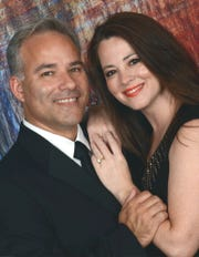 Pastor Dominic Carlow and his wife, Heather.