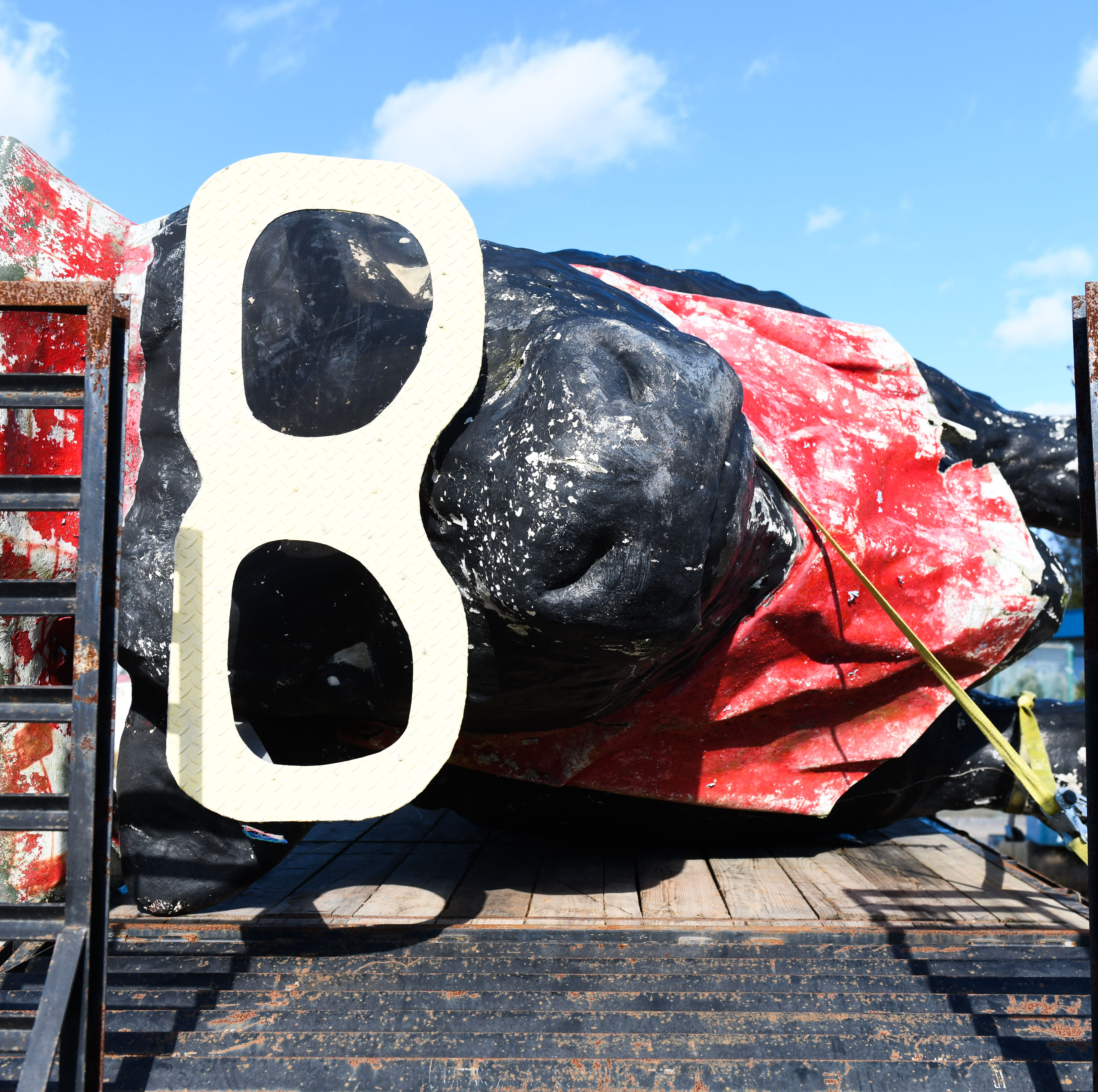 Capt. Bob's Bull: Ocean City's fiberglass statue gets new home in Sussex