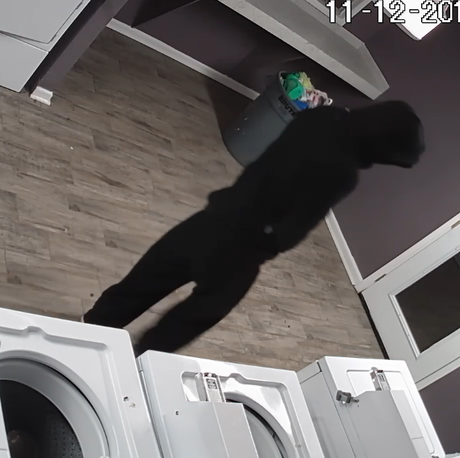 Shreveport police seek help in identifying laundry room burglar