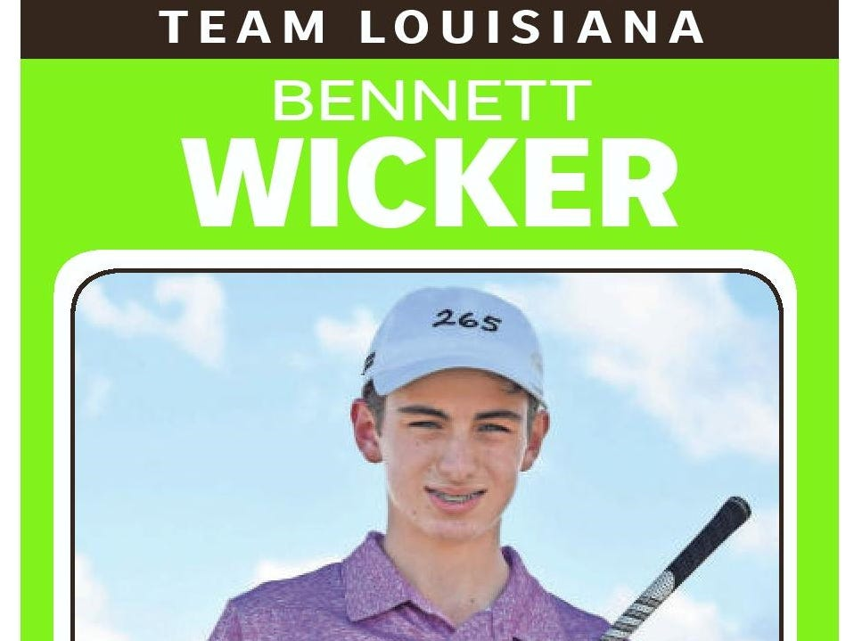 Team Louisiana lineup for PGA Junior League National Championship
