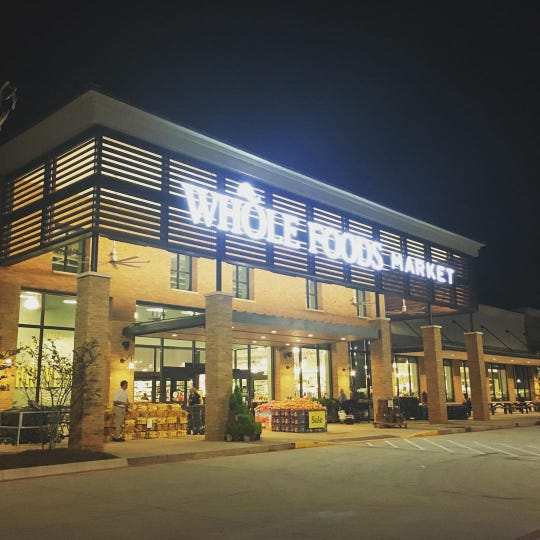 Whole Foods in Shreveport.