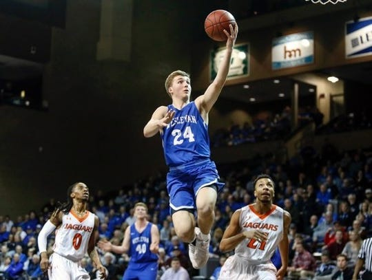 Dell Rapids grad Ty Hoglund is putting up big numbers at Dakota Wesleyan.
