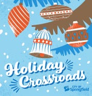 "The album cover for ""Holiday Crossroads,"" the city of Springfield's music compilation to promote Festival of Lights."