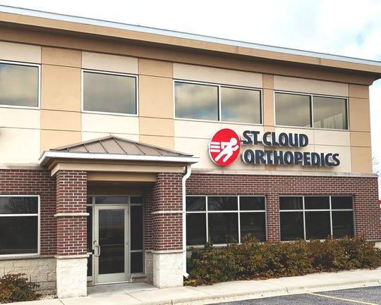 St. Cloud Orthopedics south St. Cloud clinic.