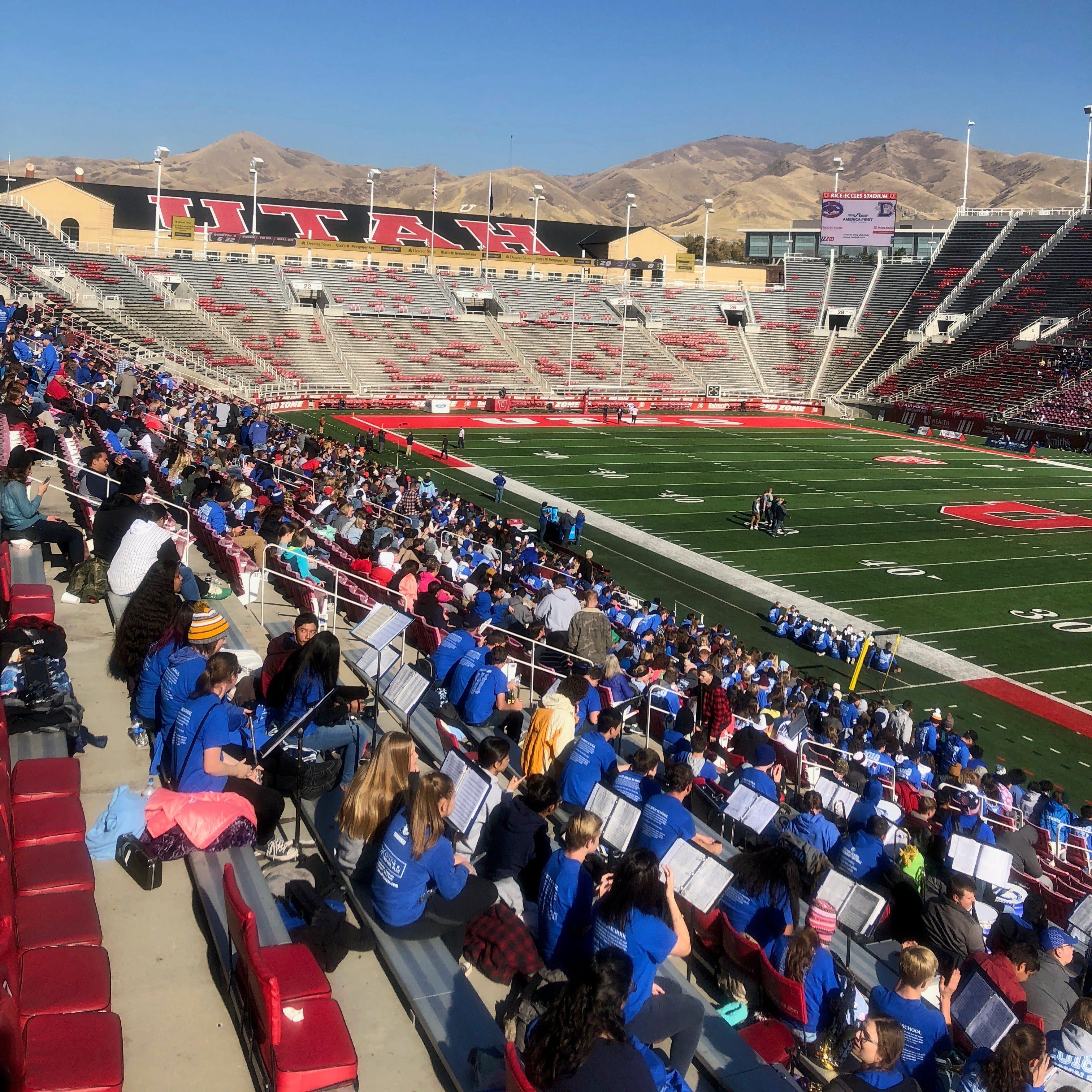 Utah 4A state footballs finals live blog: Orem stomps Dixie 60-13