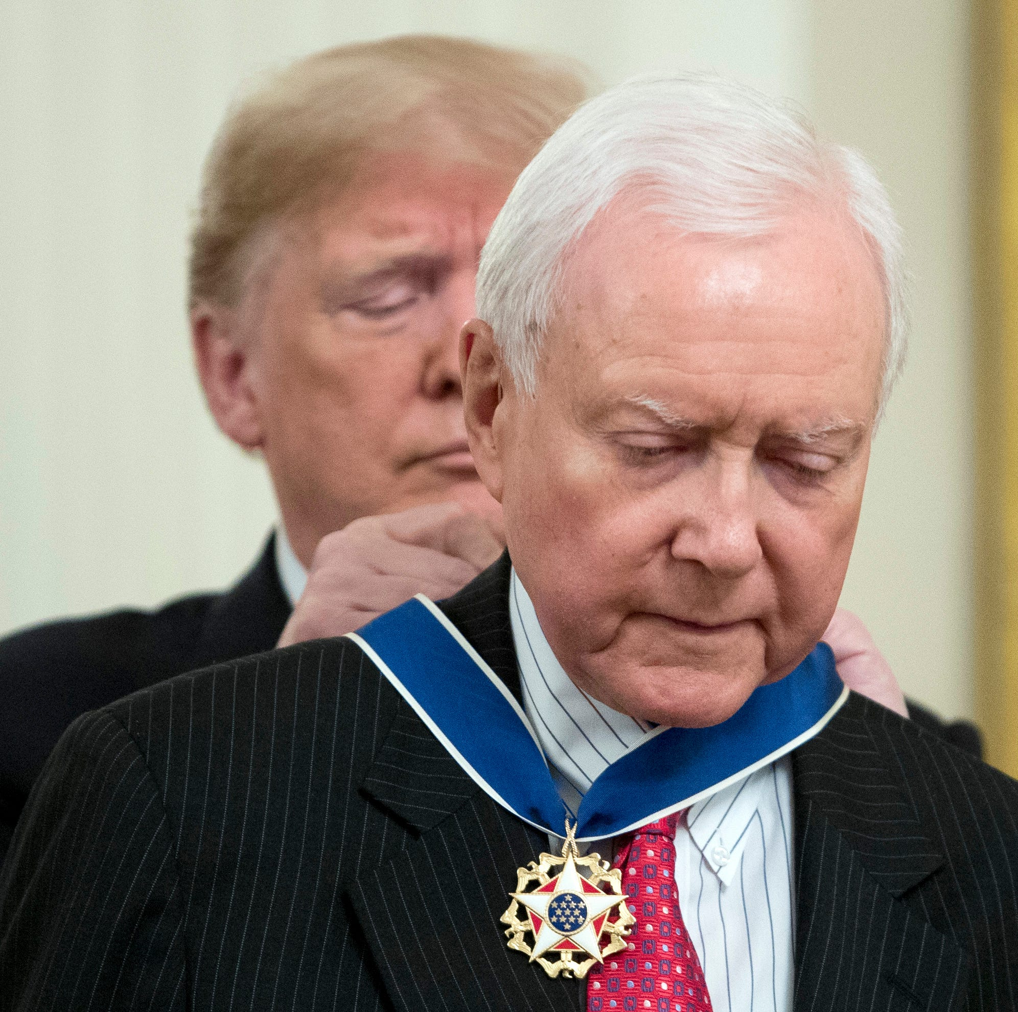 Elvis, Orrin Hatch, Miriam Adelson among Presidential Medal of Freedom recipients