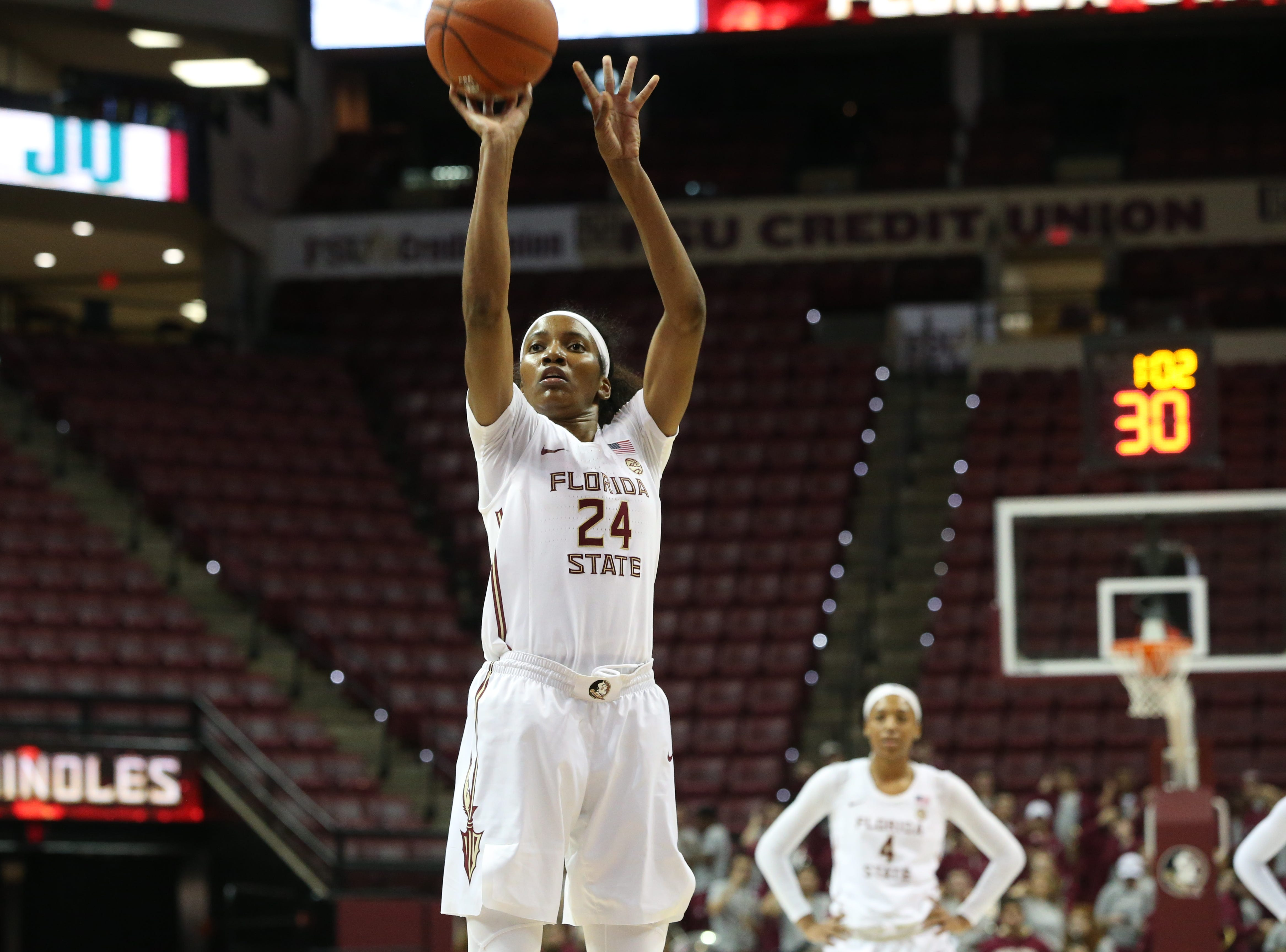 Strong perimeter shooting boosts Florida State past Jacksonville