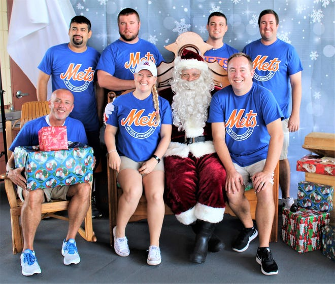 At last year's Breakfast with Santa, the St. Lucie Mets staff had a chance to tell St. Nick what they wanted for Christmas!