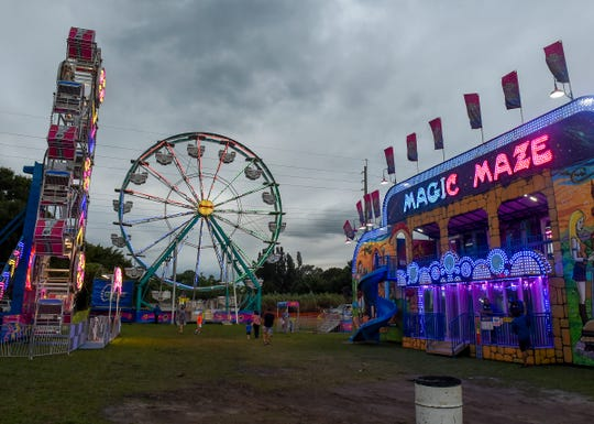 The 55th annual St. Helen's Harvest Festival is 5-11 p.m. Friday, noon to 11 p.m. Saturday and noon to 6 p.m. Sunday at the Jackie Robinson Training Complex, formerly Historic Dodgertown, 3901 26th St., Vero Beach.