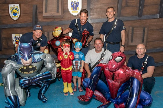 Nearly every super hero was represented at The Children's Ball.