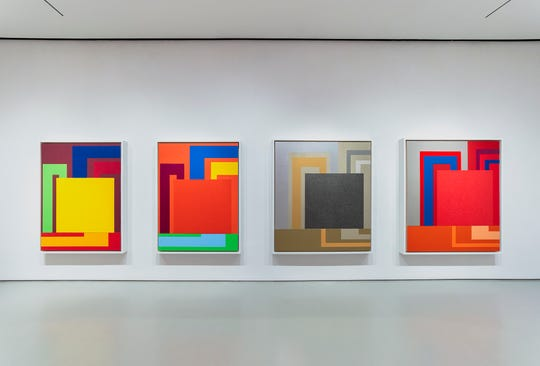 """Peter Halley: Unseen Paintings 1997 – 2002, From the Collection of Gian Enzo Sperone"""