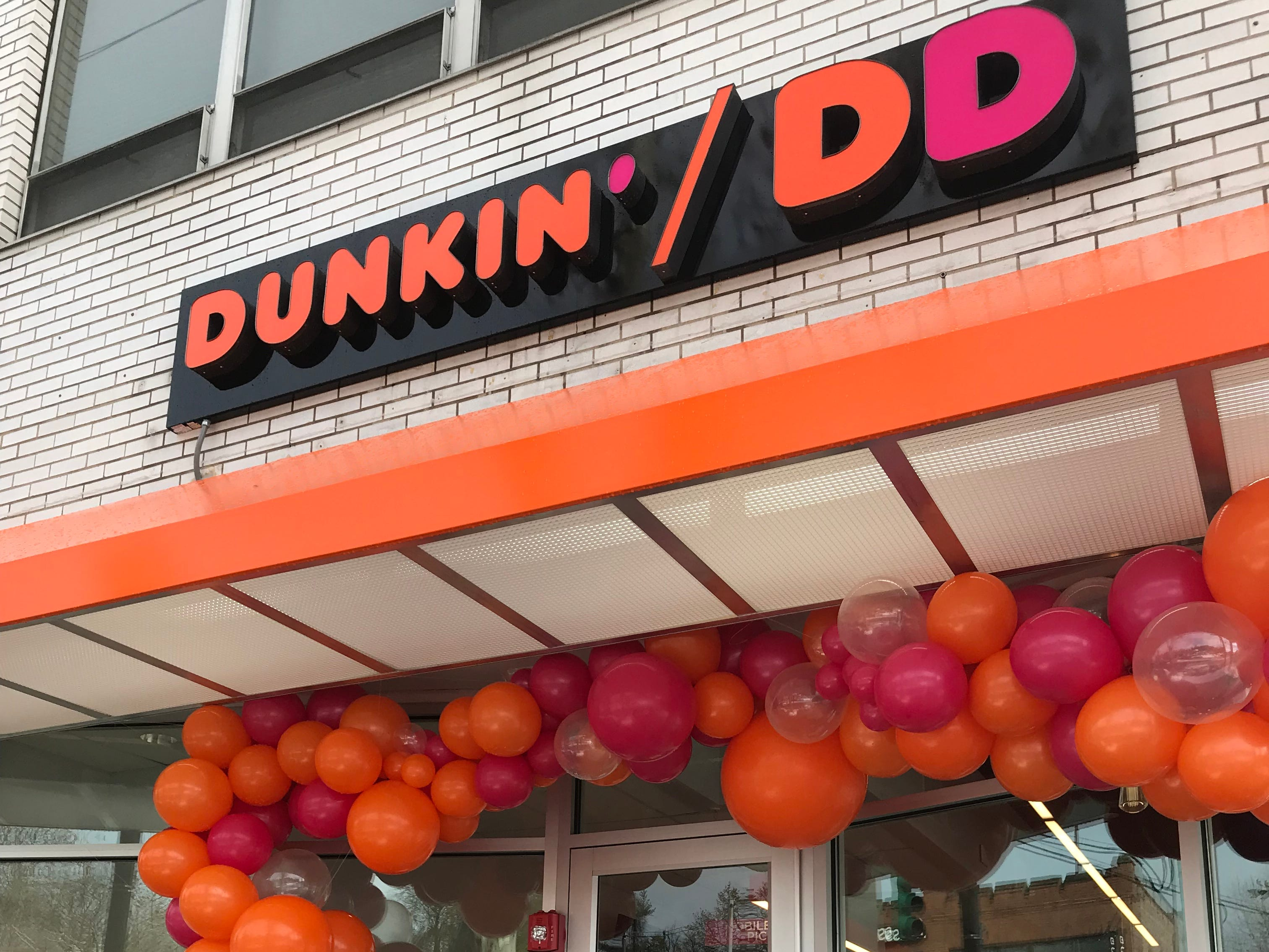 The new Dunkin'/DD store in Hartsdale. This is the first Next Generation Dunkin' Donuts in Westchester.