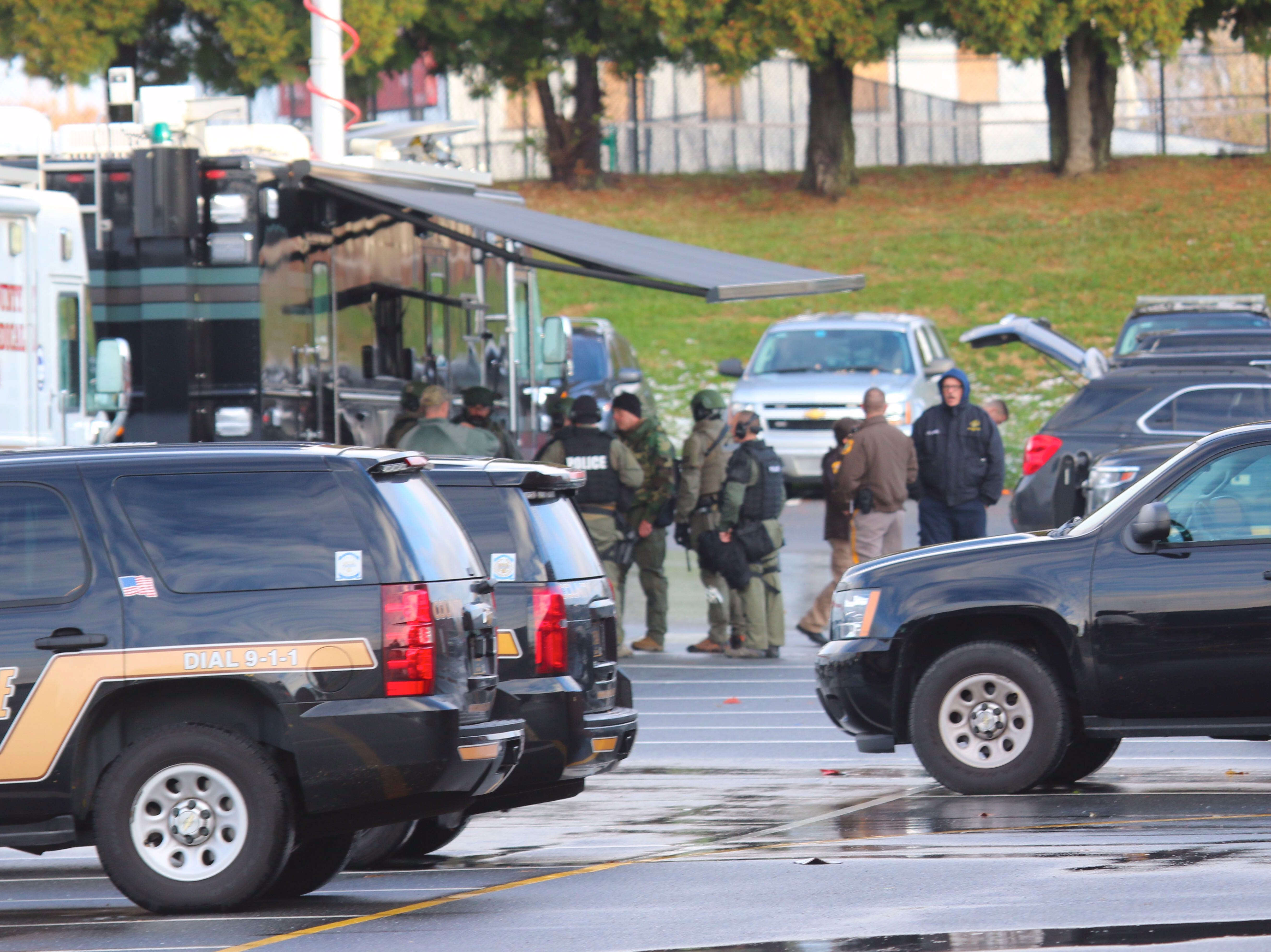 Police officer arrested after all-night standoff near Newport caused 'shelter in place' order