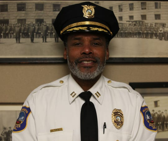 Capt. Faheem Akil of the Wilmington Police Department