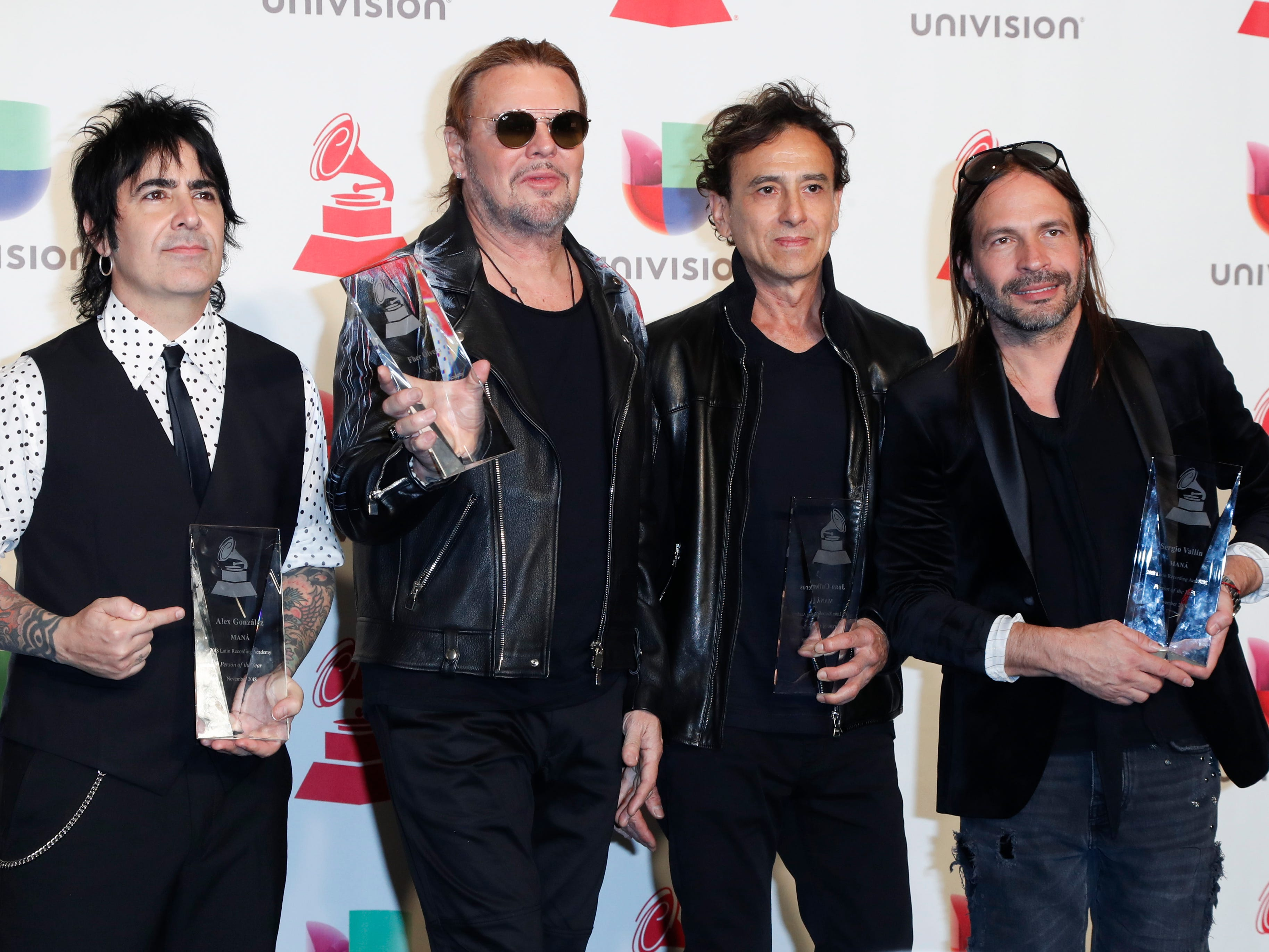 Maná after receiving Latin Grammy honor: We vow to fight for immigrants, women's rights