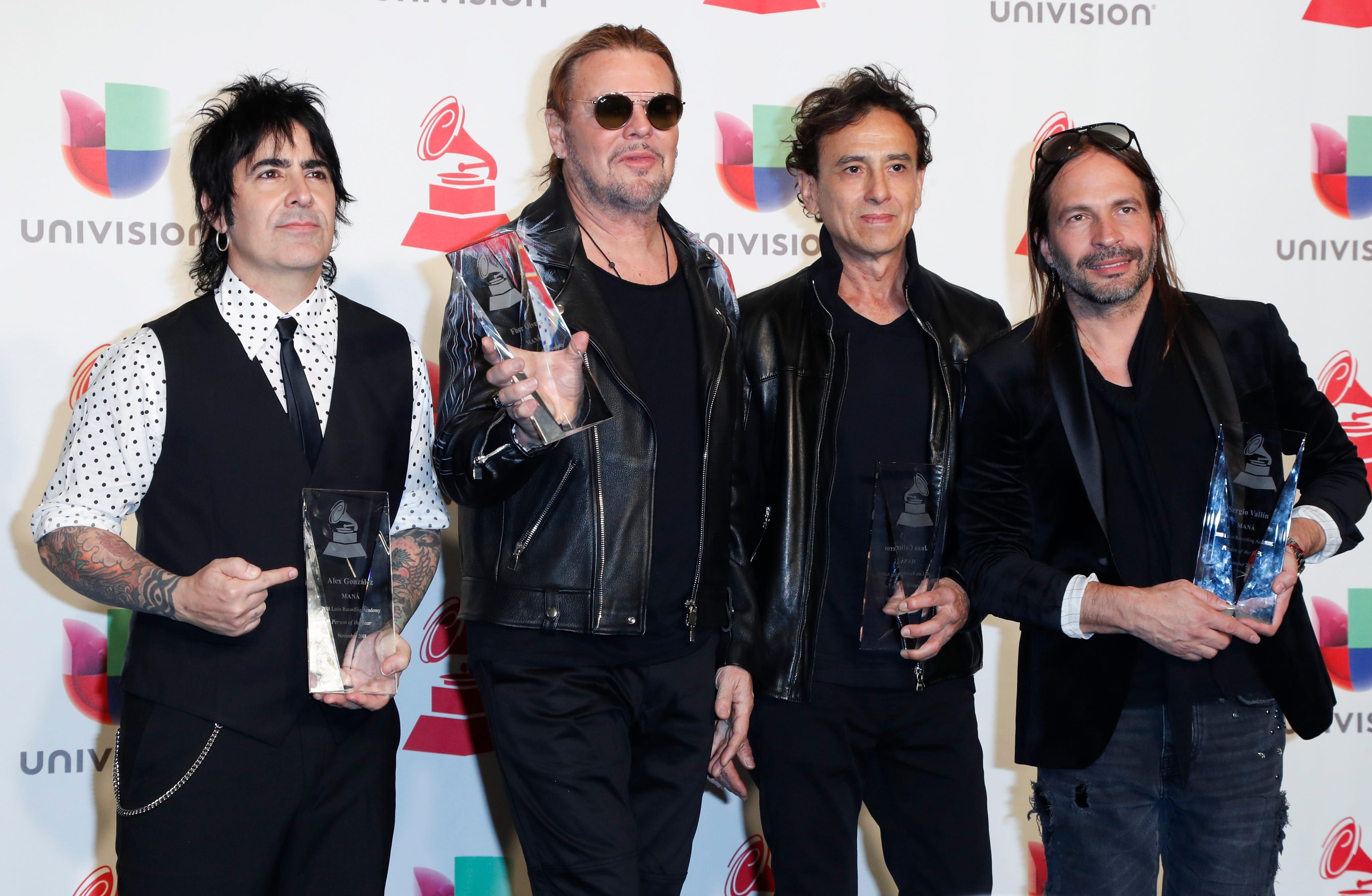 Mana Latin Grammy Awards 2018