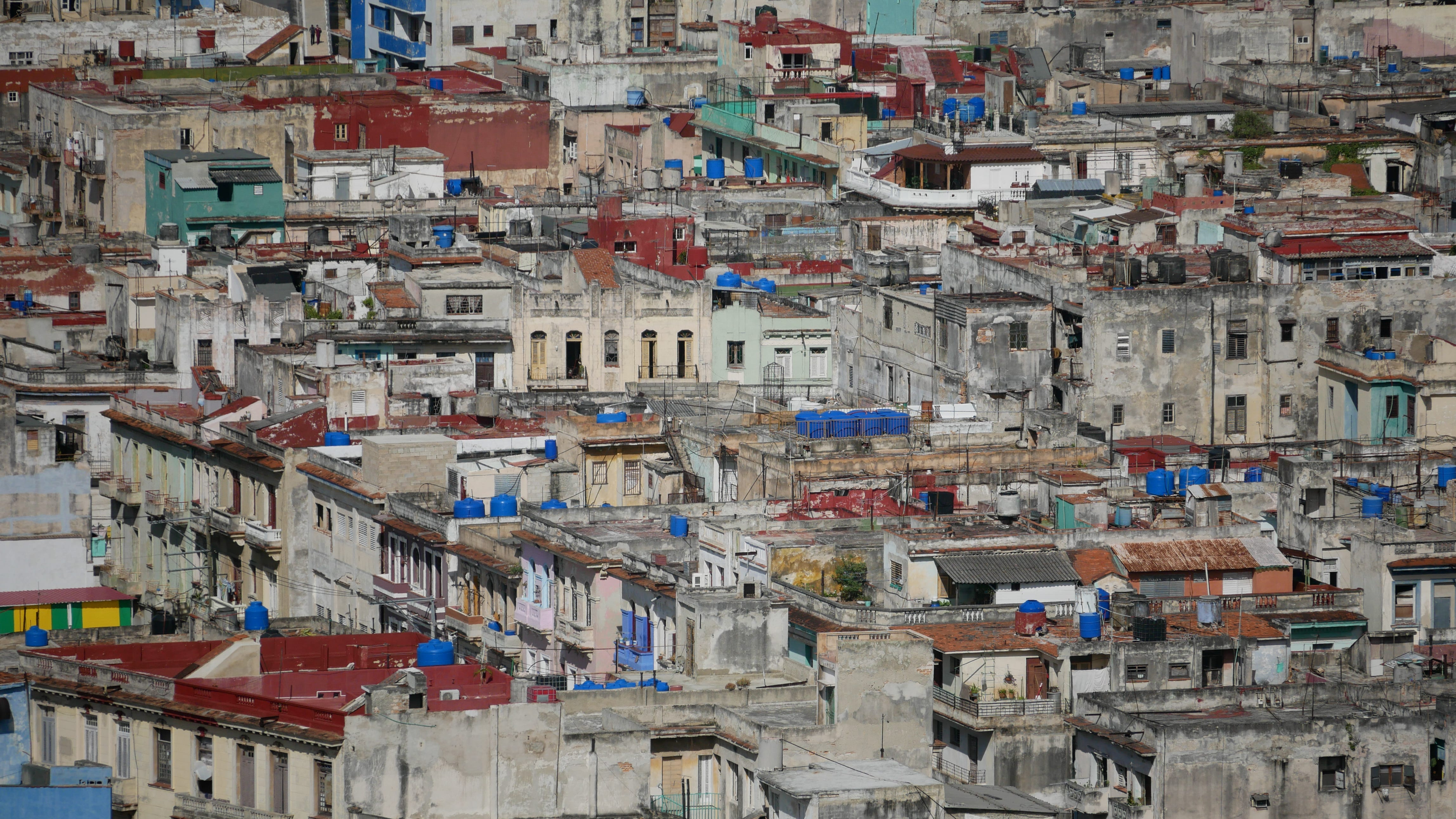 Havana, a city of about 2 million people, had a shortage of 206,000 homes in 2016, official figures show.