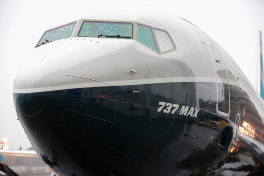A Boeing 737 Max 9 rolls out of the aircraft manufacturer's factory in Renton, Washington on March 7, 2017.