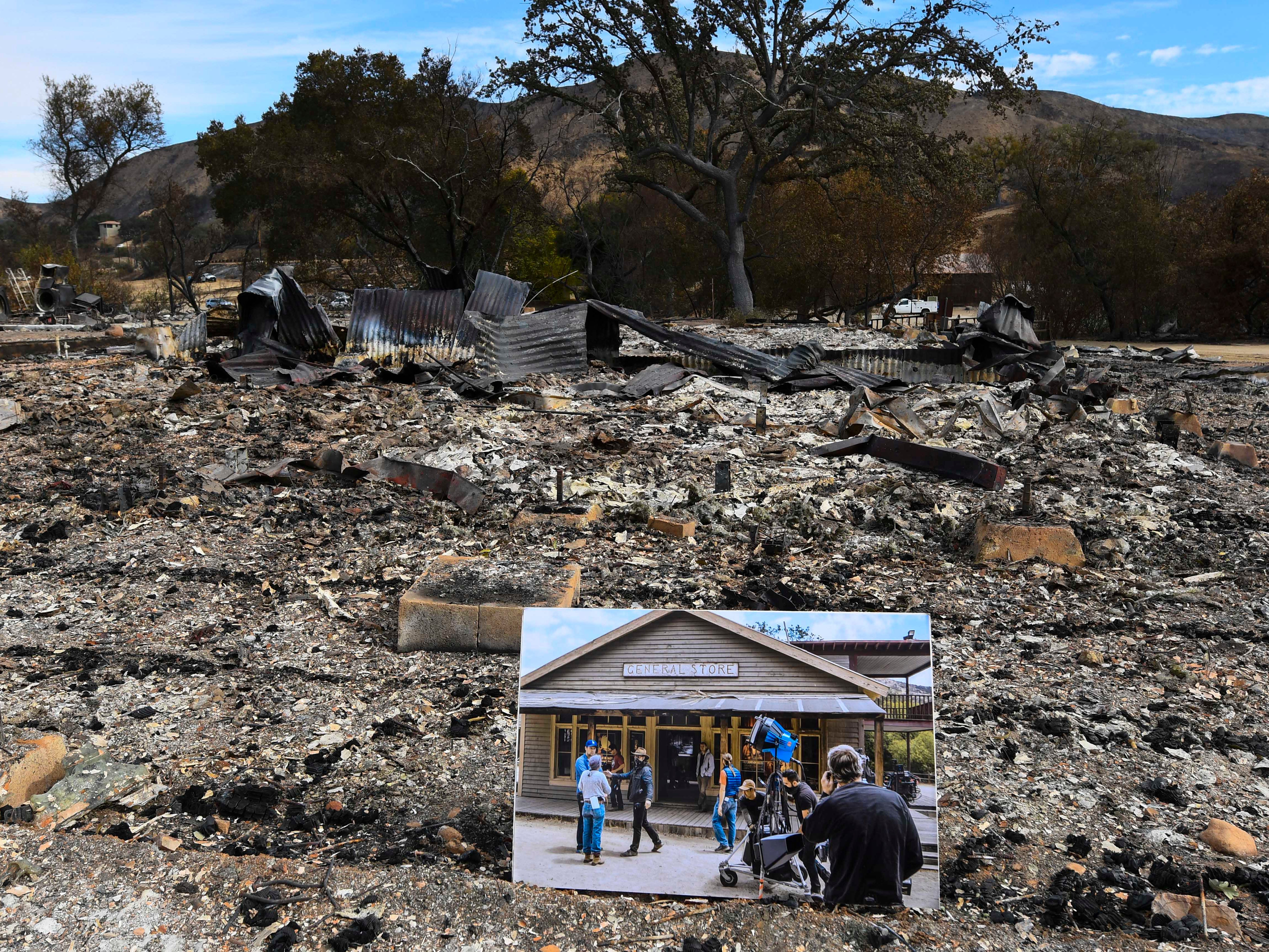 Paramount Ranch, historic set destroyed in Woolsey Fire, to be rebuilt