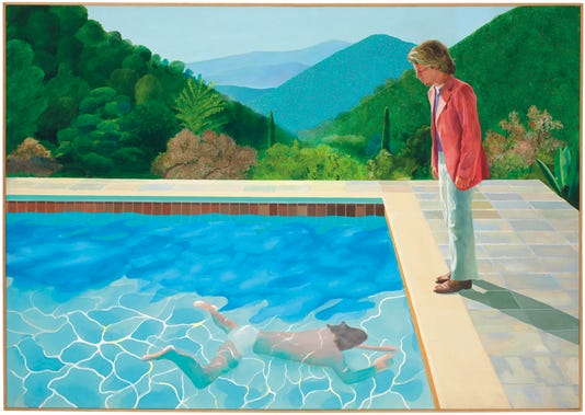 Ap David Hockney Auction A Ent