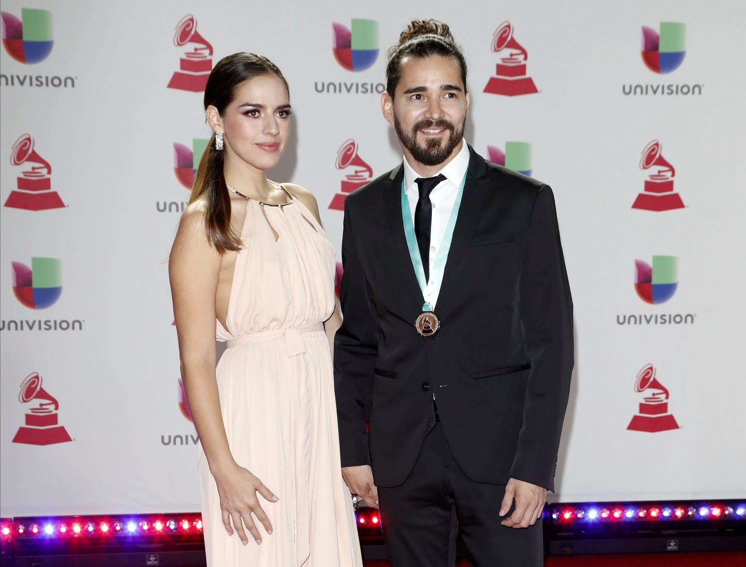 Gabriel Flores (R) and guest