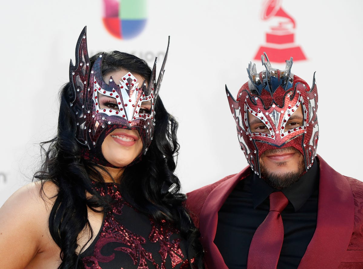 Kalisto and his wife Abigail Rodriguez