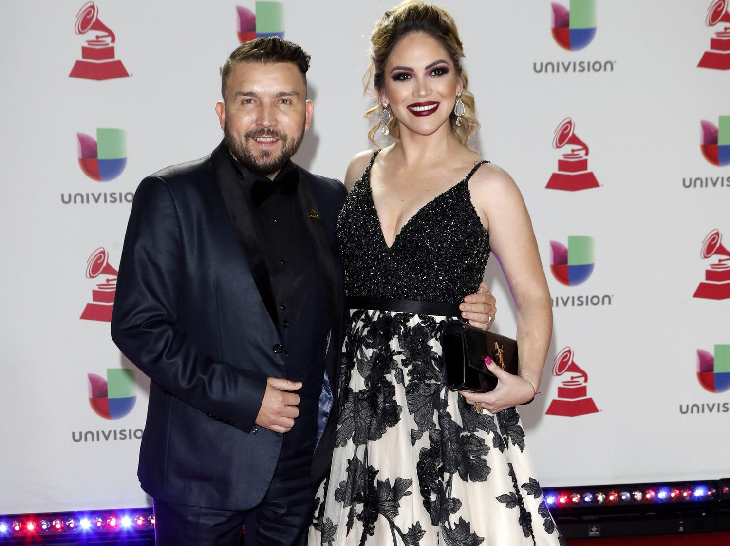 Poncho Lizarraga and wife Celia Correa