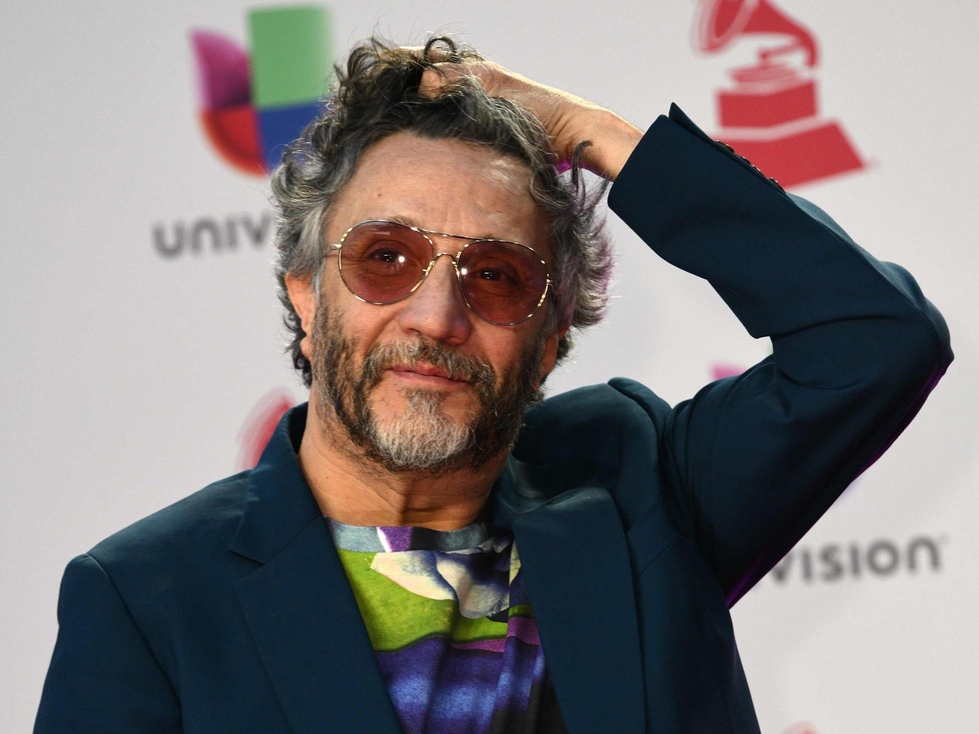 Argentine singer-songwriter Fito Paez