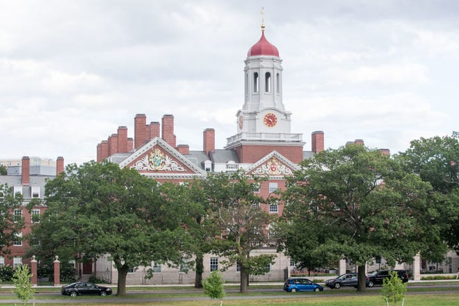 Jennifer Moses shares her opinion on the Harvard affirmative action case, in which a group of Asian students has taken the university to court claiming that its admissions practices discriminates against them. Shown here: Harvard University in Cambridge, Massachusetts.