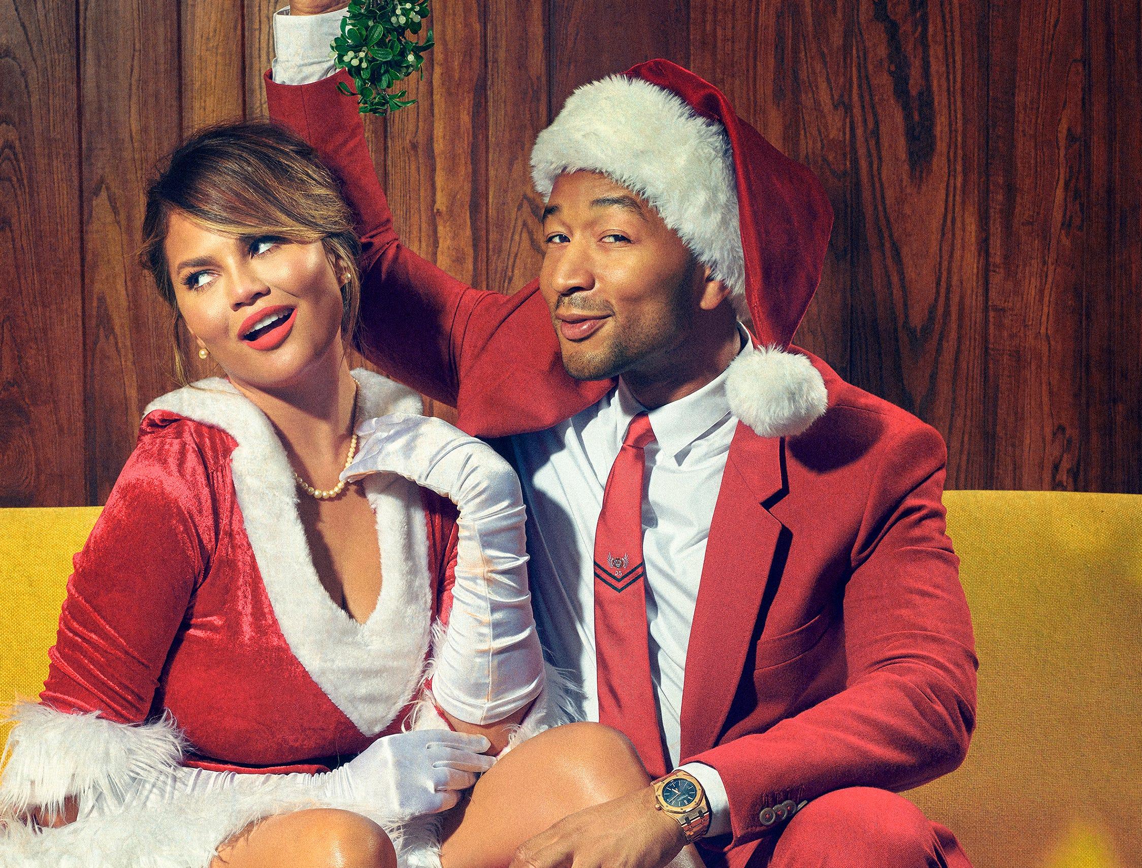 """A Legendary Christmas with John and Chrissy"" (NBC, Nov. 28, 8 EST/PST)"