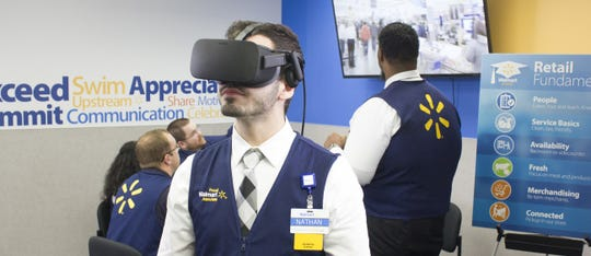 Walmart is using the power of VR technology to train and educate associates.