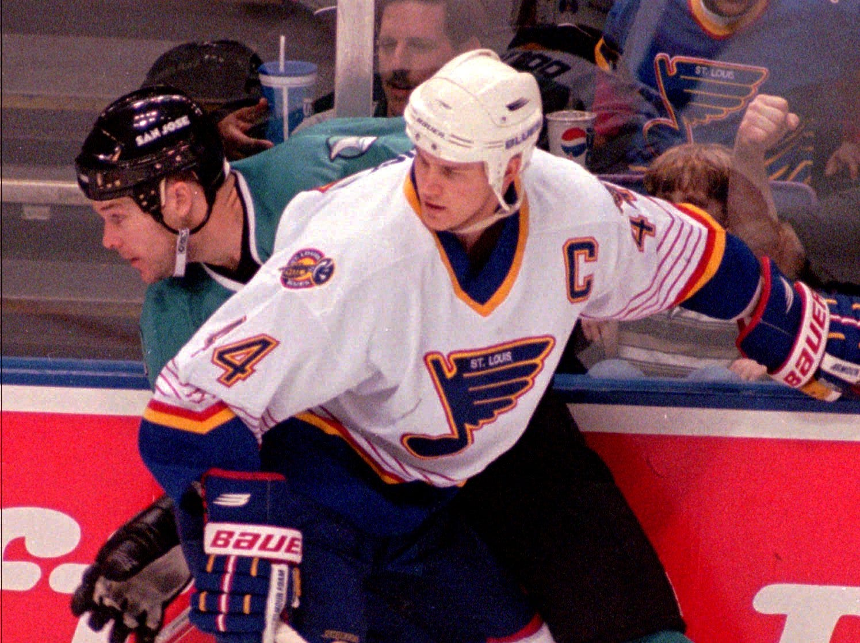 44. Chris Pronger (1993-2006). Also: Stephane Richer, Dave Babych