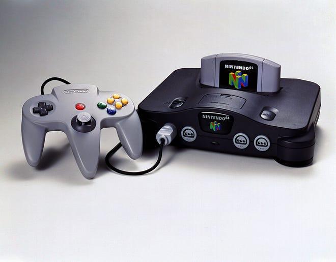 Nintendo 64  Game system.