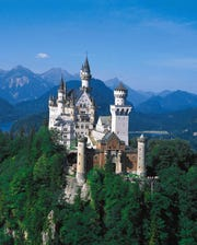 Be warned: Strollers and backpacks are no-gos at Bavaria's Neuschwanstein Castle.
