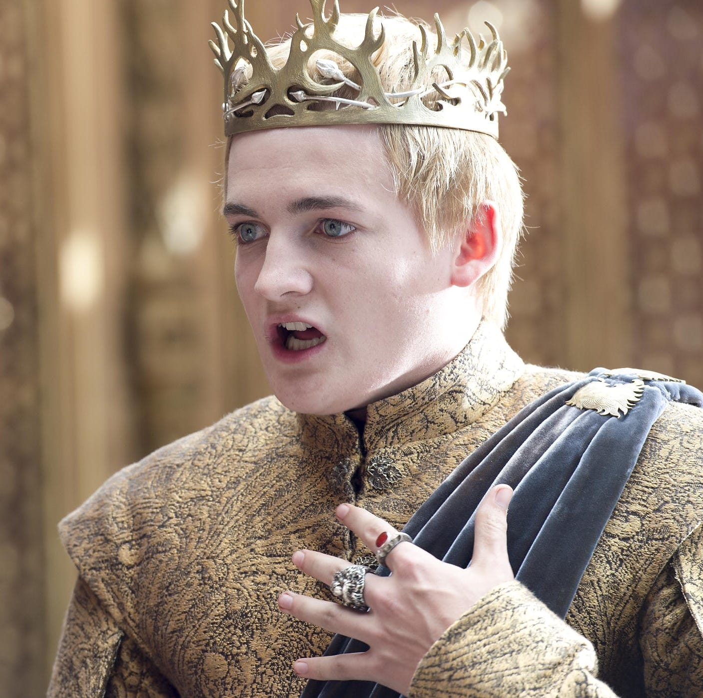 GAME OF THRONES episode 32 (season 4, episode 2): Jack Gleeson. photo: Macall B. Polay/courtesy of HBO [Via MerlinFTP Drop]