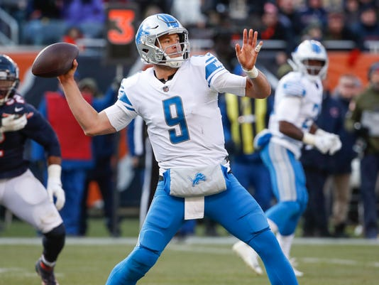 Usp Nfl Detroit Lions At Chicago Bears S Fbn Chi Det Usa Il