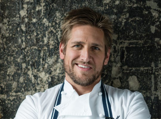 Chef Curtis Stone moved production of his HSN appearances to his Los Angeles home and test kitchen after the COVID-19 pandemic prevented him from shooting at HSN's Florida studio.