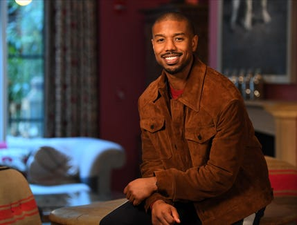 """Creed II"" star Michael B. Jordan poses for a portrait in New York."