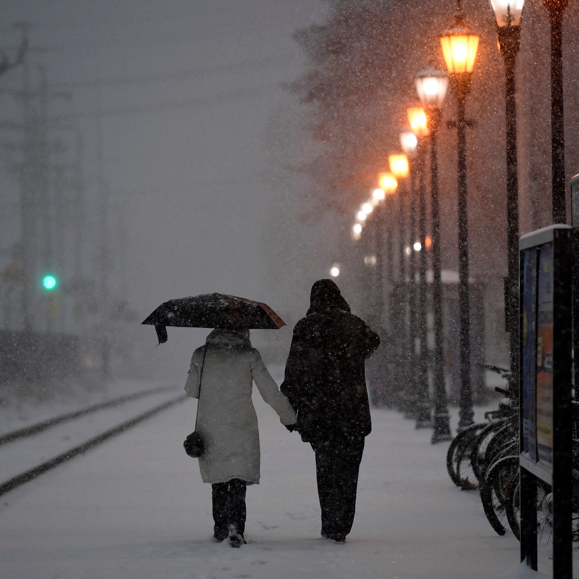 NJ weather: Here's how much snow and rain the nor'easter dumped on NJ