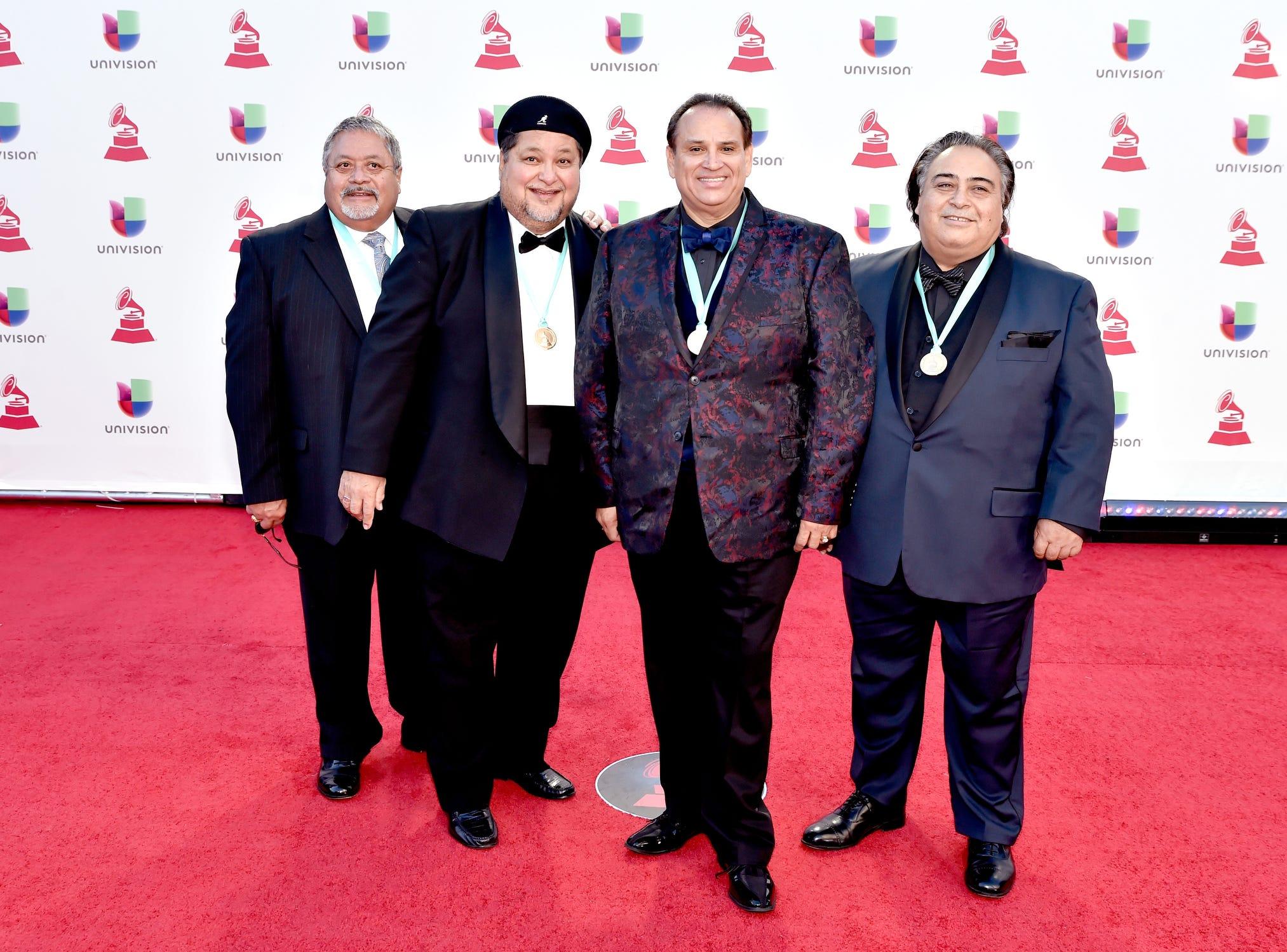 Members of Roger Velasquez and The Latin Legendz