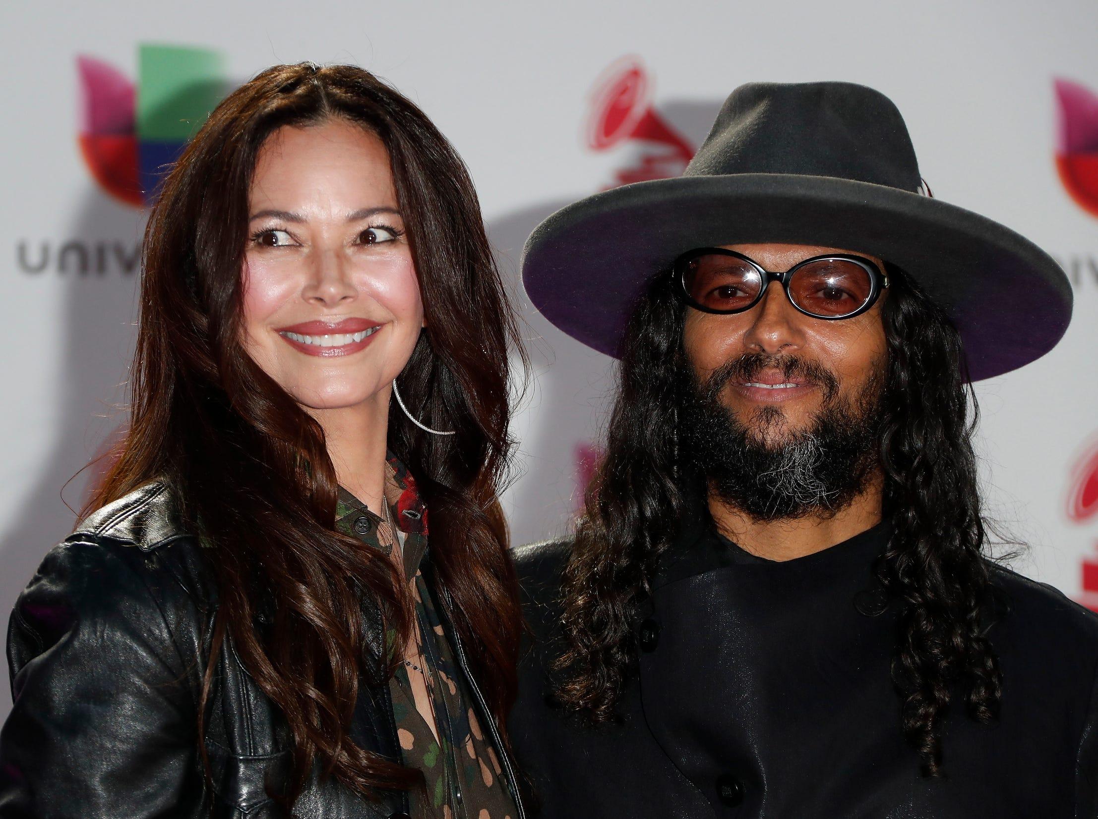 Angela Alvarado and Draco Rosa