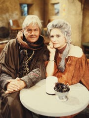 Harvey Korman as Krelman and Bea Arthur as Ackmena in 1978's 'Star Wars Holiday Special.""