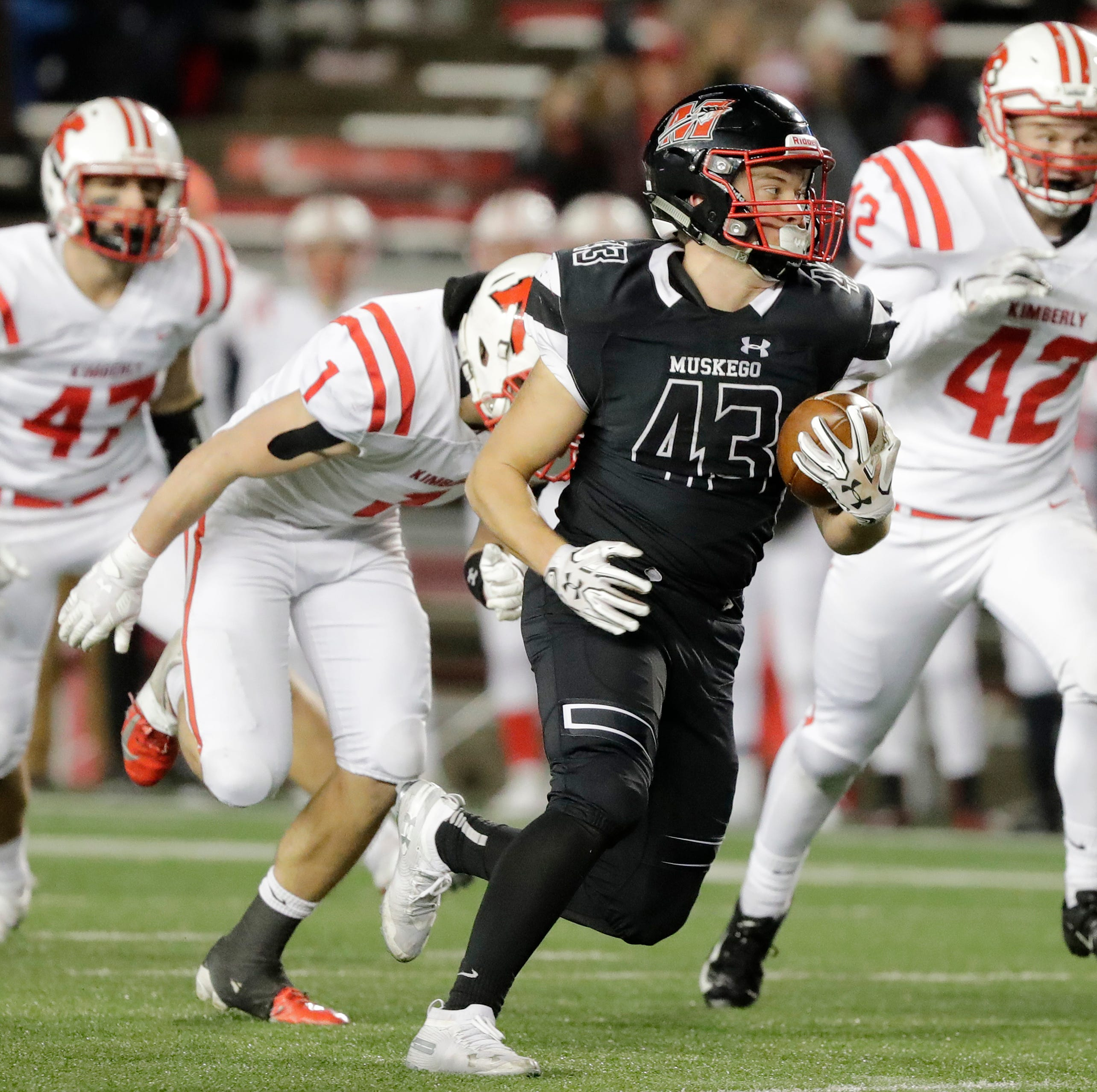 WIAA state football: Kimberly did all it could to ground Muskego running game