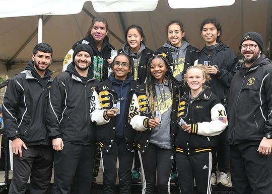 South Brunswick places 5th at the Cross Country Meet of Champions at Holmdel Park