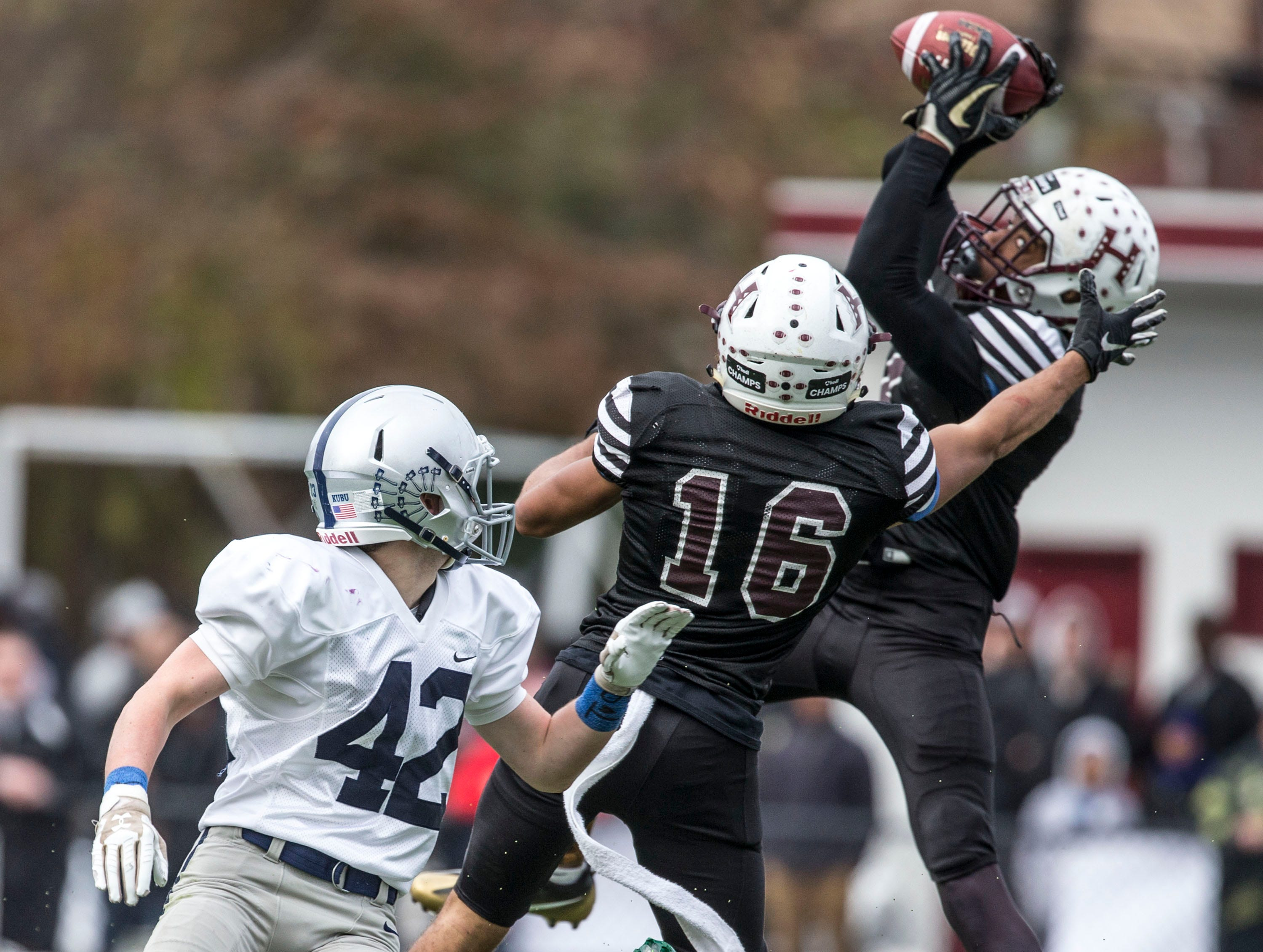 Manasquan falls to Hillside in the NJSIAA Central Group II championship football game. Hillside, NJSaturday, November, 17, 2018