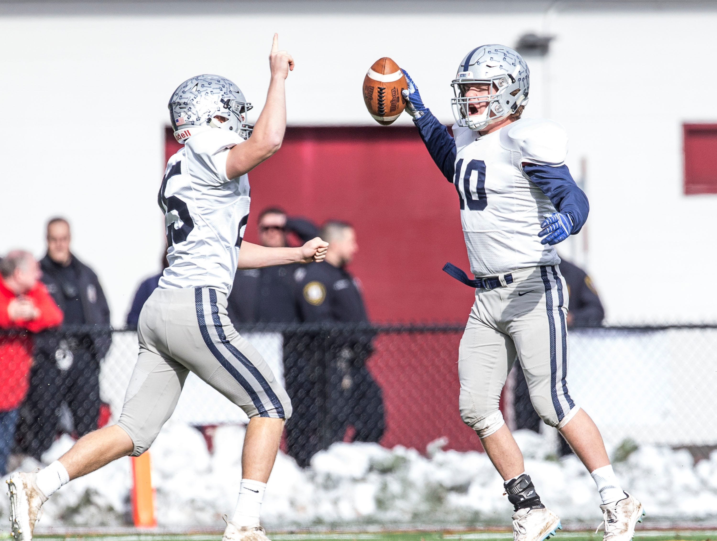 Manasquan falls to Hillside in the NJSIAA Central Group II championship football game. 