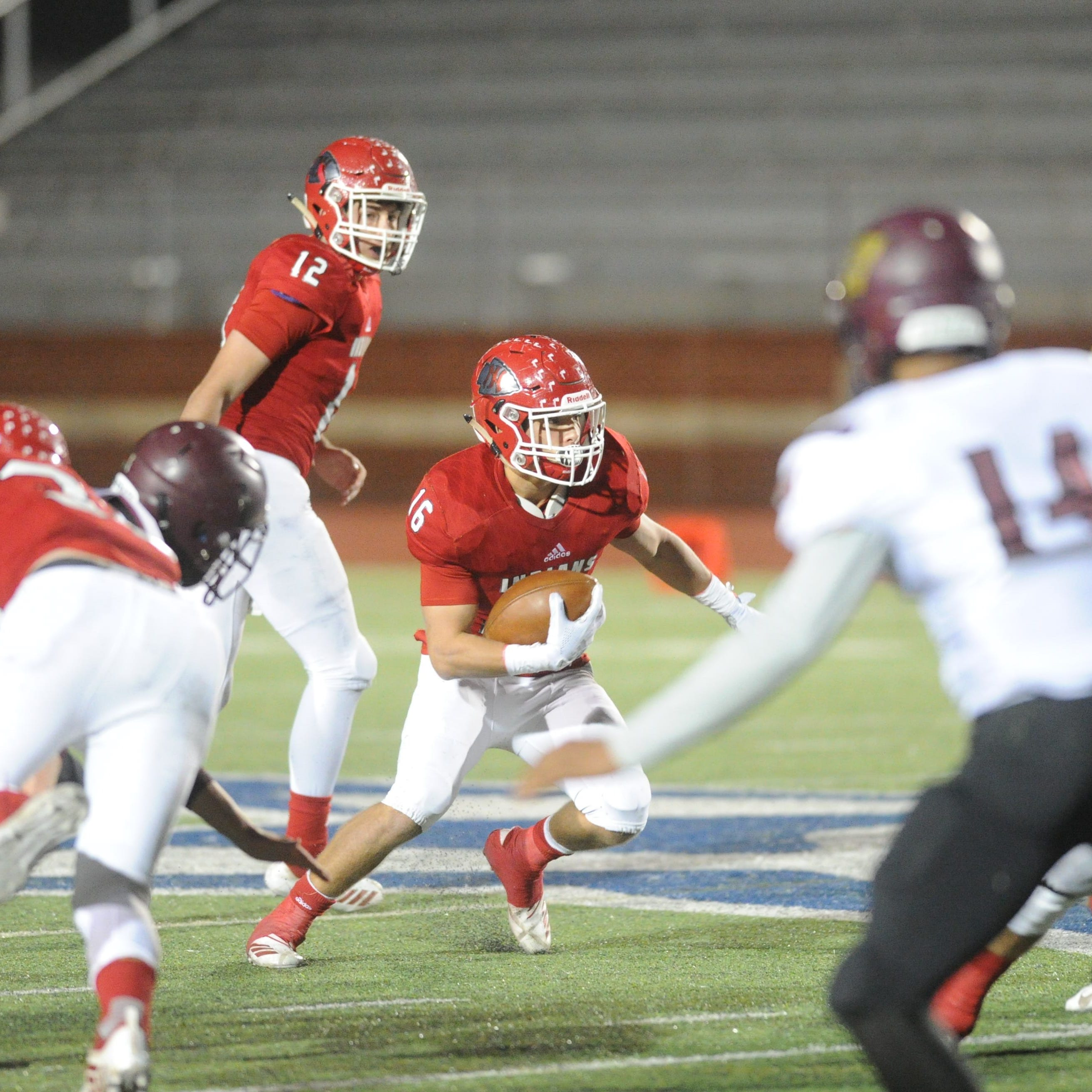 Jim Ned football holds off Whitesboro in bi-district playoff
