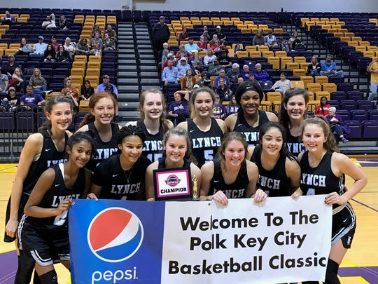 Bishop Lynch girls basketball won the Polk-Key City Tournament 67-57 over Abilene Wylie at Hardin-Simmons Saturday.