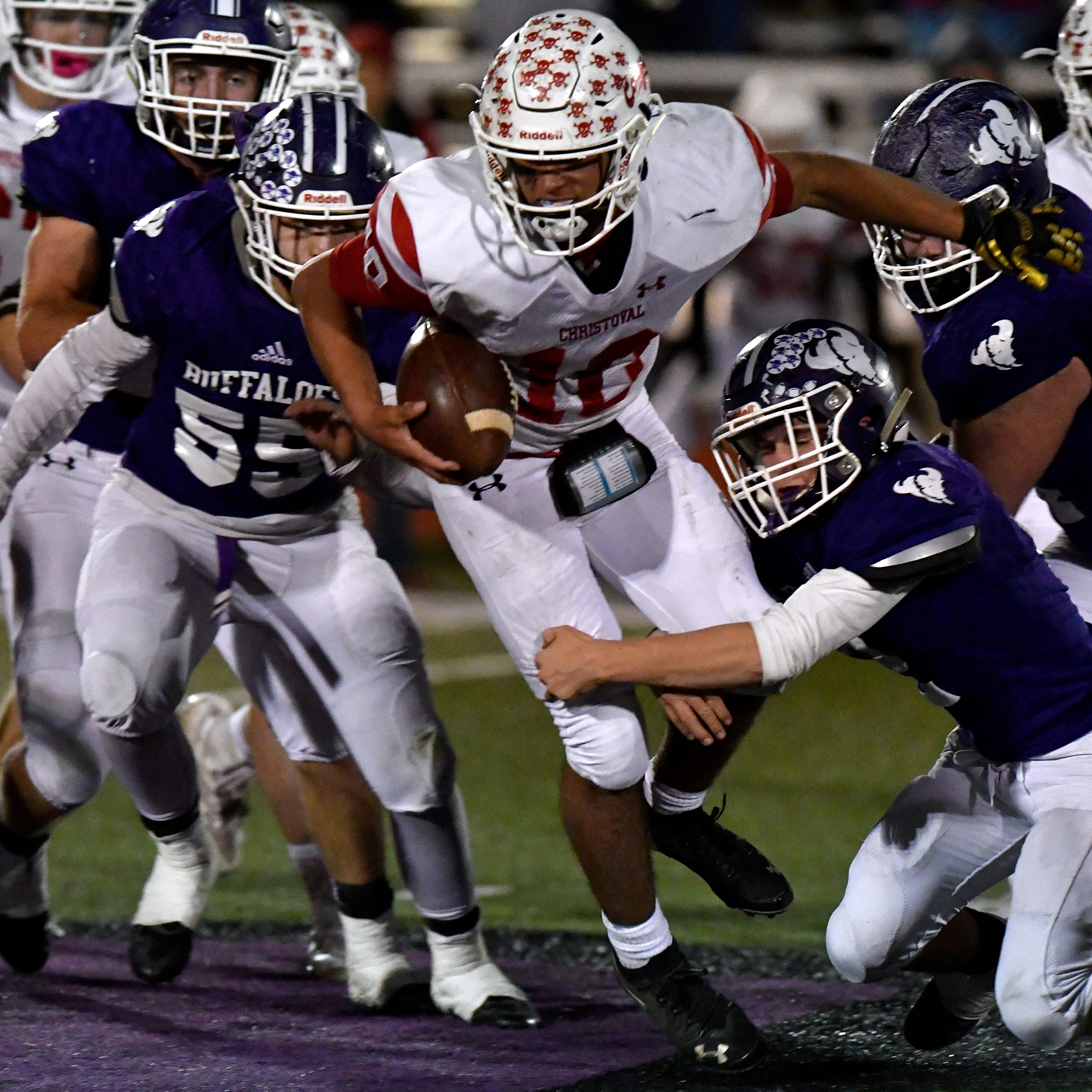 Texas high school playoff scores, pairings for area games
