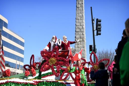 Asheville Holiday Parade steps off Nov. 23